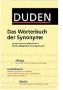 Duden - Das Woerterbuch der Synonyme